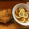 インスタ映えしすぎなレモンラーメン。りんすず食堂(東京都江東区)