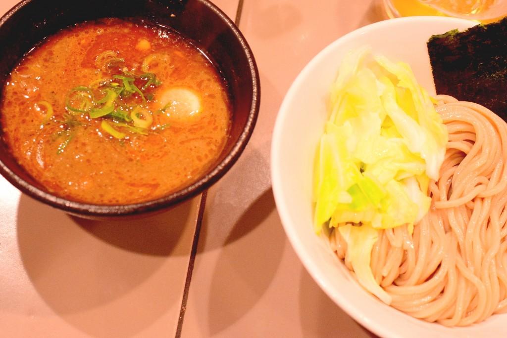五ノ神_えびつけ麺2