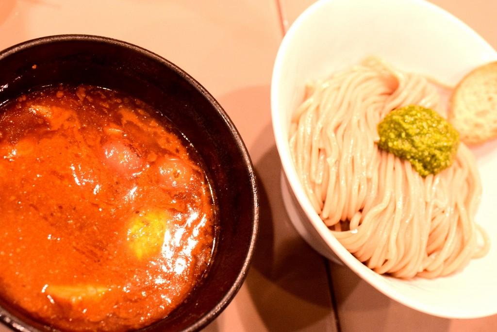 五ノ神_トマトつけ麺
